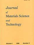 journal of materials science and technology